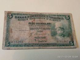 5 Pese 1926 - Albanië