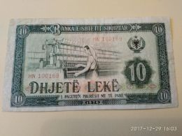 10 Lek 1976 - Albania