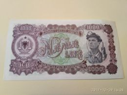1000 Lek 1957 - Albania