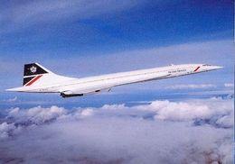 Aviation Postcard-185 BRITISH AIRWAYS Concorde - 1946-....: Moderne