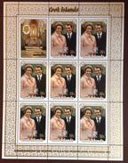 Penrhyn 1973 Royal Wedding Sheetlet MNH - Penrhyn