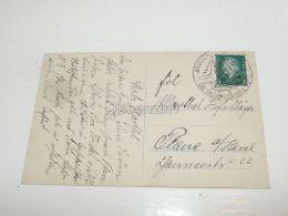 Brandenburg An Der Havel Plaue Germany Stamp Briefmarken Ansichtskarte 1929 Neuen Jahre - Germania