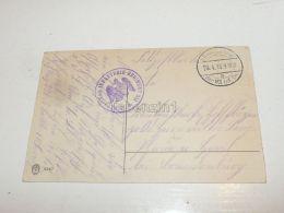 3. B. Batallion Infanterie 331 Feldpost Plaue Germany Stamp Briefmarken Ansichtskarte 1916 - Germania