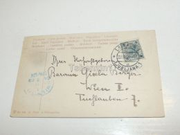 Ljubljana Slovenia Wien Austria Ansichtskarten Briefmarken 1904 - Slowenien