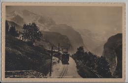 Wengernalpbahn Mit Jungfrau Und Lauterbrunnental - Photo: Wehrli - BE Berne