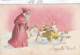 NOEL  :  Joyeux Noel : Sante Claus  ( Illustr. BERNET) - Santa Claus
