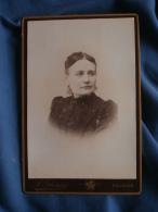 Photo  Cabinet  Ghezzi à Falaise  Portrait Femme - Circa 1890 - L343 - Fotos