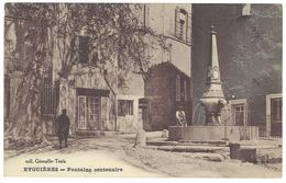 Cpa Eyguières - Fontaine Centenaire - Eyguieres