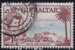 Gibraltar     .   SG   .    154      .        O   .   Cancelled   .   /   .   Gebruikt - Gibraltar