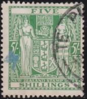 New  Zealand      .   SG   .    F  195       .        O   .   Cancelled   .   /   .   Gebruikt - Dienstzegels