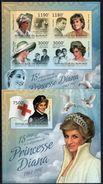 BURUNDI 2012 - Princesse Lady Diana - Feuillet 4 Val + BF ND Neufs // Mnh // Imp. CV 71.00 Euros - Burundi
