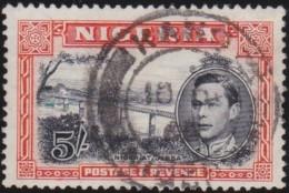 Nigeria          .   SG   .     59b      .        O   .   Cancelled   .   /   .   Gebruikt - Nigeria (...-1960)