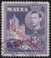 Malta            .   SG   .       240a        .        O   .   Cancelled   .   /   .   Gebruikt - Malta