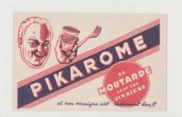 BUVARD MOUTARDE PIKAROME - Mostard