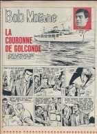 Bob Morane - Henri Vernes - Prépublication Dans Pilote 1965 - La Couronne De Golconde - 8 Pages - TBE - Bob Morane