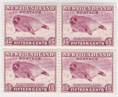 Newfoundland        .   SG   .     217    Bloc Of 4         .      **      . Postfris     .   /   .  MNH - Newfoundland