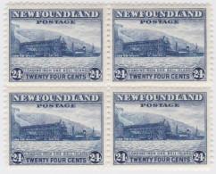 Newfoundland        .   SG   .     228     Bloc Of 4         .      **      . Postfris     .   /   .  MNH - Newfoundland