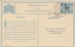 Pays Bas Entier Postal 1921 - Postal Stationery