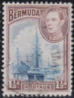 Bermuda      .      SG     .    111       .        O   .   Cancelled   .   /   .   Gebruikt - Groot-Brittannië (oude Kolonies En Protectoraten)