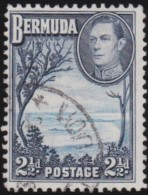 Bermuda      .      SG     .    113       .        O   .   Cancelled   .   /   .   Gebruikt - Groot-Brittannië (oude Kolonies En Protectoraten)