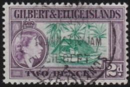Gilbert & Ellice Islands      .      SG     .    66        .        O   .   Cancelled   .   /   .   Gebruikt - Gilbert- En Ellice-eilanden (...-1979)