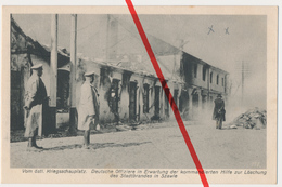PostCard - Stadtbrand Schaulen Szawle Šiauliai Šiauliai - Ca. 1915 - Fotograf A. Kühlewind Aus Königsberg - Litauen