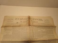Journal Officiel De L'empire Français N° 28 Du Samedi 29 Janvier 1870 Avec Supplément ( 100 Gr ) - Zeitungen
