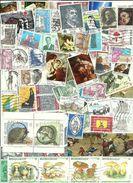 LOT EN VRAC - 100  Beaux Timbres De Belgique -1980/1990 - Colecciones