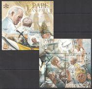 BURUNDI 2012 - Hommage Pape Jean Paul II - 4 Val + BF Neufs // Mnh // CV 36.00 Euros - Burundi