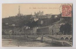 LYON - 1905 - Quai Pierre-Scize Et Côteau De Fourvière - Lyon