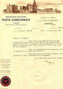 Brasserie-malterie MOTTE-CORDONNIER, LILLE, Boulevard De La Liberté, 1947 - Autres Collections