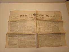 Journal Officiel De L'empire Français N° 26 Du Jeudi 27 Janvier 1870 ( 60 Gr ) - Zeitungen