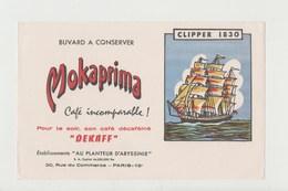 BUVARD CAFE MOKAPRIMA Café écaféiné DEKAFF - CLIPPER 1830 - Coffee & Tea