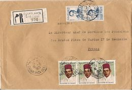 MAROC LETTRE RECOMMANDEE CASABLANCA  DE 1971 - Marokko (1956-...)