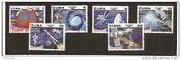 Cuba - Serie Completa Usata: Programma Intercosmos - Space