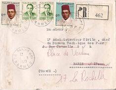 MAROC LETTRE RECOMMANDEE BENAHMED DE 1970 - Marruecos (1956-...)