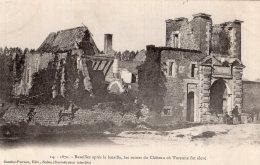 B41103 Bazeilles Apres La Bataille, Les Ruines Du Chateau - Non Classés