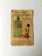 Calendarietto Barbiere Cartoncino Profumo Imperial Cologne Fougère Borsari Parma - Calendari