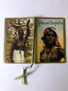 Calendarietto Barbiere Bellezze Etiopiche 1937 - Calendari