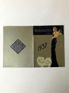 Calendarietto Barbiere Bourjois 1937 - Non Classificati