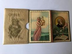 Calendarietto Barbiere Le Opere Di G.Verdi 1931 - Non Classificati