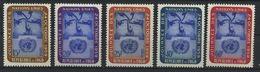 TOGO   Journée Des Nations Unies N° Y&T   295 à 299  ** - Togo (1960-...)