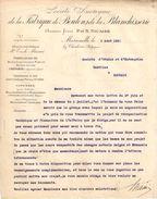 Lettre Ancienne/Soc. A. De La Fabrique De Boulons De La Blanchisserie/MARCINELLE Charleroi/Belgique//1923  FACT258 - Belgique