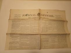 Journal Officiel De L'empire Français N° 22 Du Dimanche 23 Janvier 1870 ( 40 Gr ) - Zeitungen
