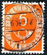 BRD - Michel 126 - OO Gestempelt (D) - 6Pf Posthorn - [7] West-Duitsland