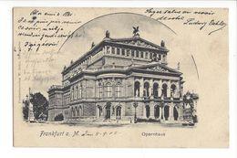 18880 -  Frankfurt Opernhaus 1905 - Frankfurt A. Main