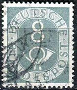 BRD - Michel 127 - OO Gestempelt (A) - 8Pf Posthorn - [7] West-Duitsland