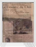 99 81 DIVERS JOURNAL LE MATIN 21/08/1906  Accident Tramways Marseille Desastre Chili - COUPE AUTOMOBILE AIX LES  BAINS - Newspapers