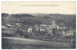 Cpa Saint Julien La Vêtre, Près Noirétable ( Loire ) - France