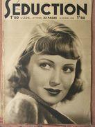 Séduction N°226 (26 Fév 1938) Femmes Nues - L'école De La Séduction - Boeken, Tijdschriften, Stripverhalen
